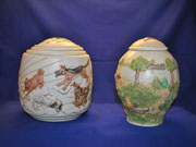 Handpainted Dog Urn